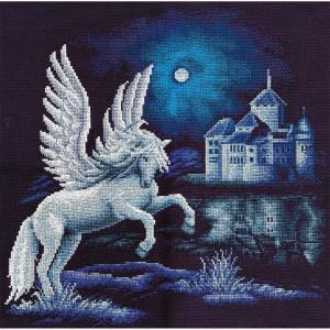 "Panna counted cross stitch kit ""Pegasus""..."