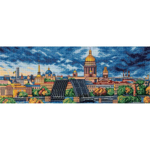 """Panna counted cross stitch kit """"Morning in St...."""