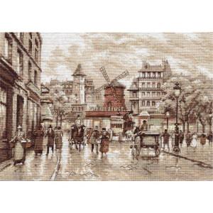 """Panna Kreuzstichset """"Paris. Moulin Rouge""""..."""