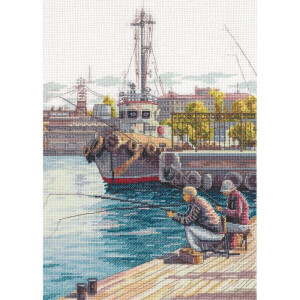 Panna counted cross stitch kit Weekend 21x29.5cm, DIY