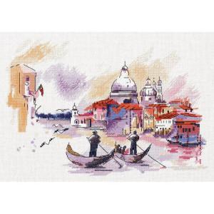 """Panna Kreuzstichset """"Reisen in Venedig""""..."""