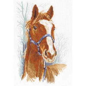 """Panna Kreuzstichset """"Orlik das Pferd""""..."""
