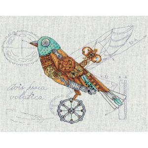 "Panna Kreuzstichset ""Mechanischer Vogel""..."