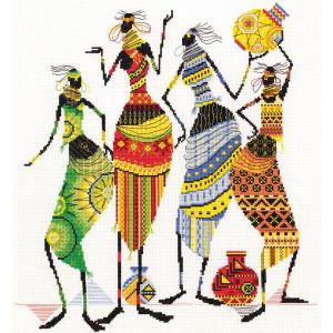 "Panna counted cross stitch kit ""Africa...."