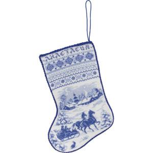 """Panna Kreuzstichset """"Weihnachtsstiefel""""..."""