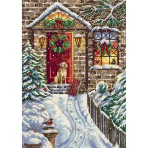"Panna counted cross stitch kit ""Christmas Eve""..."