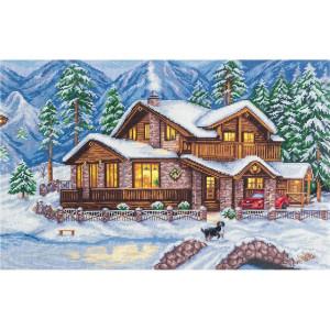 """Panna counted cross stitch kit """"Mountain..."""