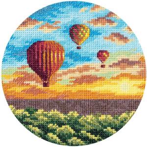 """Panna Kreuzstichset """"Luftballons bei..."""