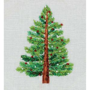 """Panna Plattstichset """"Weihnachtsbaum"""" 11.5x14cm,..."""
