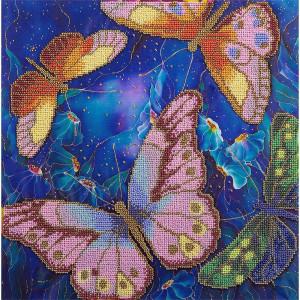"""Panna Stickpackung Perlenstickerei """"Schmetterlinge..."""