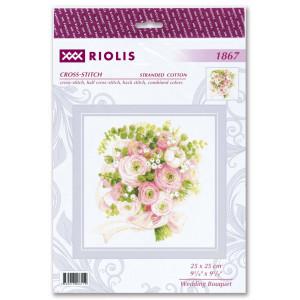 """Riolis Kreuzstich-Set """"Hochzeitsstrauß"""",..."""