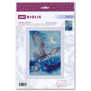 """Riolis Kreuzstich-Set """"Magische Eule"""",..."""