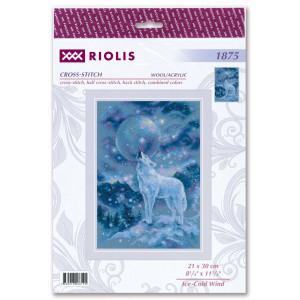"""Riolis Kreuzstich-Set """"Eiskalter Wind"""",..."""