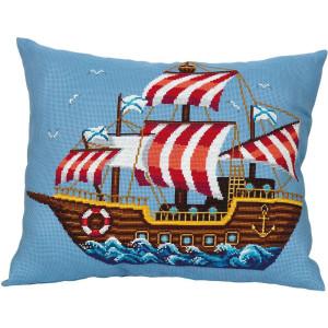 Panna cushion front counted cross stitch kit...