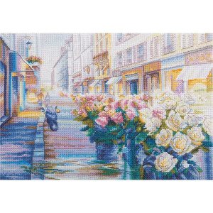 """Panna counted cross stitch kit  """"Paris in..."""