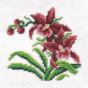 "Klart stamped beads stitching kit  ""Wild..."