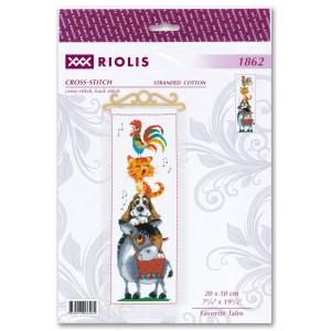 Riolis counted cross stitch kit Lieblingsgeschichten, DIY