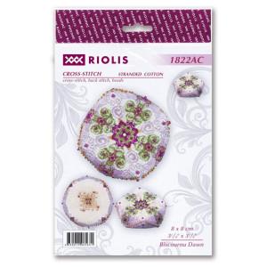 Riolis counted cross stitch kit Biscournu Dawn, DIY