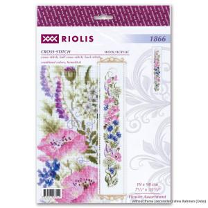 "Riolis Kreuzstich Set ""Blumensortiment"",..."
