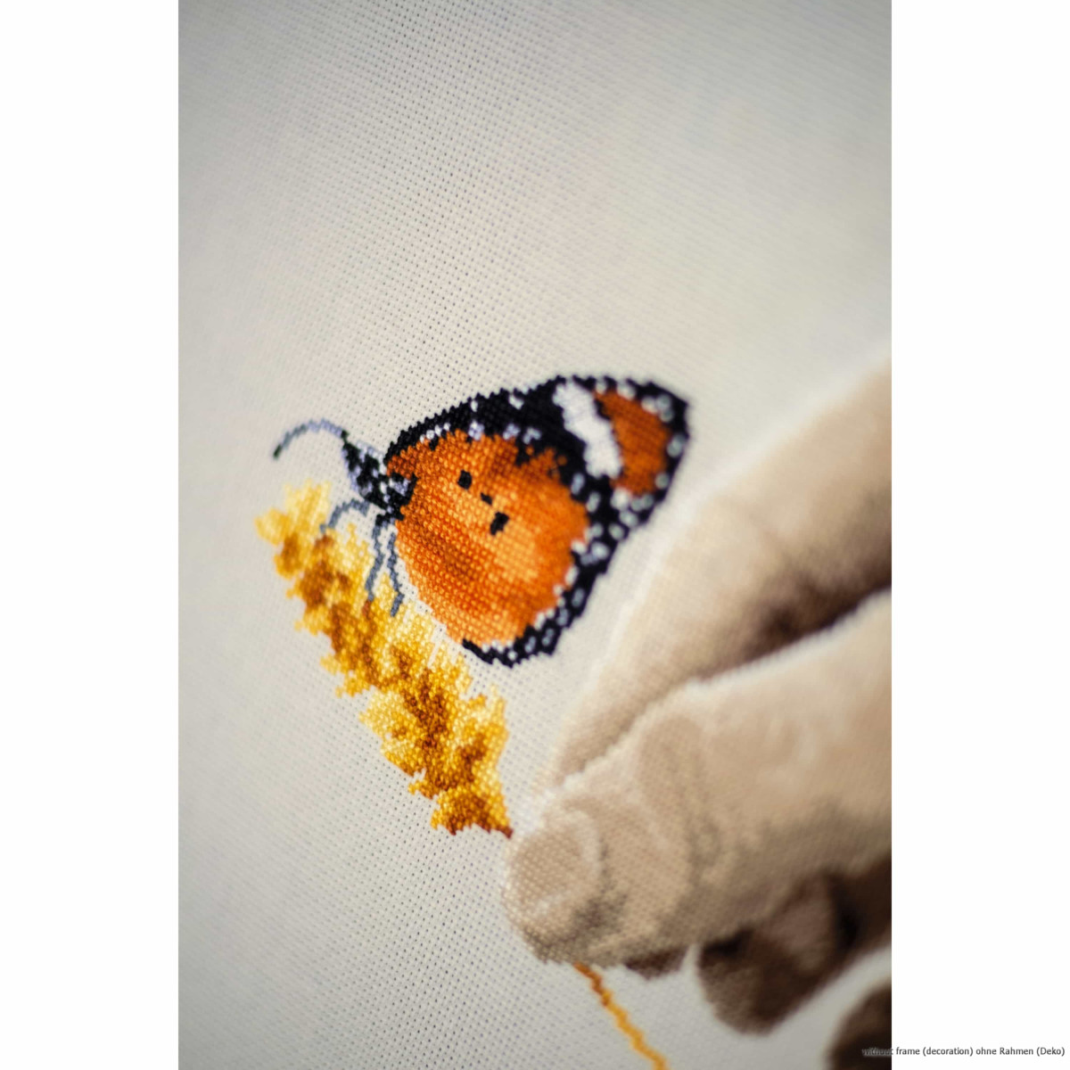 Vervaco Counted cross stitch kit Butterfly fairy DIY
