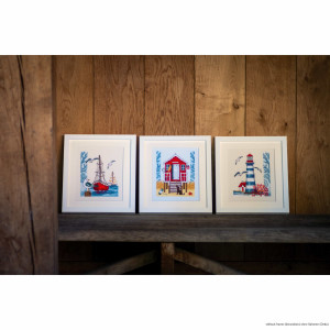 """Vervaco cross stitch kit """"Lighthouse"""", counted,..."""
