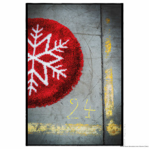 """Vervaco Latch hook kit shaped rug """"Ice star"""""""