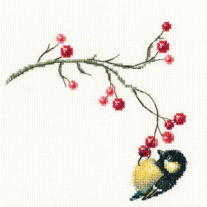 """RTO counted Cross Stitch Kit """"Autumn berries""""..."""