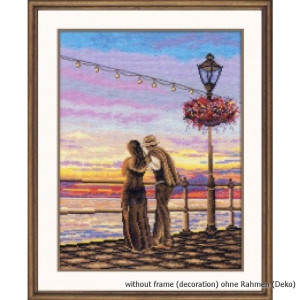 """Oven counted cross stitch kit """"Romantic..."""