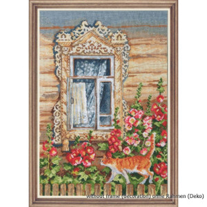 """Oven counted cross stitch kit """"Rustic..."""
