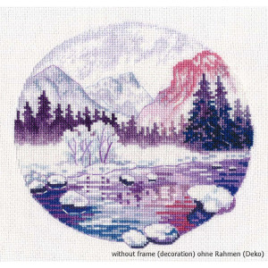 """Oven counted cross stitch kit """"Lilac dreams"""",..."""