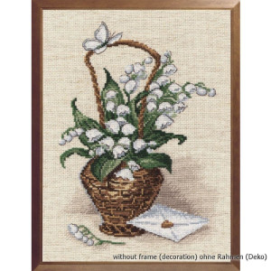 """Oven counted cross stitch kit """"Confession"""",..."""