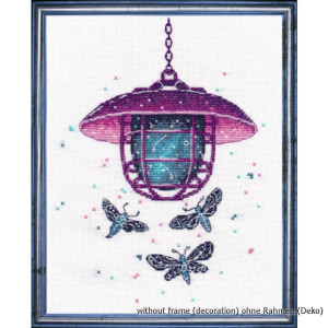 """Oven counted cross stitch kit """"Mysterious..."""