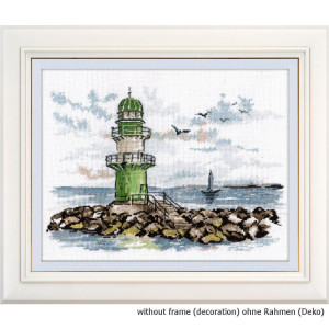 """Oven counted cross stitch kit """"Guardian of the sea..."""