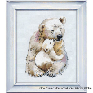 """Oven counted cross stitch kit """"Mothers warm"""",..."""