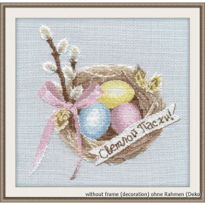 """Oven counted cross stitch kit """"Happy Easter"""",..."""