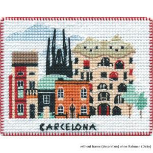 """Oven Kreuzstichset """"Magnet. Barcelona"""",..."""