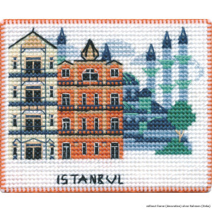 """Oven counted cross stitch kit """"Magnet...."""