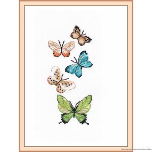 """Oven Kreuzstichset """"Schmetterlinge"""",..."""
