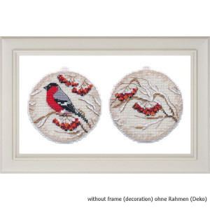 """Oven counted cross stitch kit """"Christmas bauble...."""