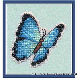 """Oven counted cross stitch kit """"Badge. Blue..."""
