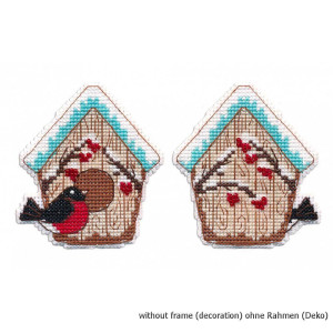 """Oven counted cross stitch kit """"Christmas toy...."""