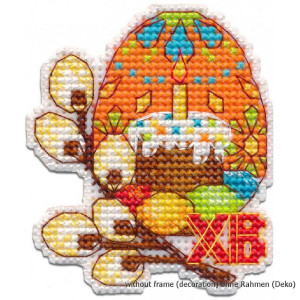 """Oven counted cross stitch kit """"Easter egg"""",..."""