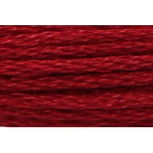 Anchor Sticktwist 8m, rubinrot dunkel, Baumwolle, Farbe...