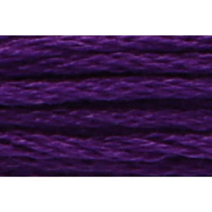 Anchor Sticktwist 8m, pflaume, Baumwolle, Farbe 102, 6-fädig