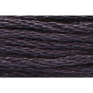Anchor Sticktwist 8m, anthrazit, Baumwolle, Farbe 401,...