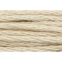 Anchor Sticktwist 8m, kies, Baumwolle, Farbe 830, 6-fädig