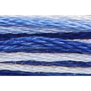 Anchor Sticktwist 8m, blau ombre, Baumwolle, Farbe 1210,...
