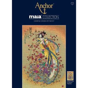 "Anchor Maia Collection Kreuzstich-Set ""Göttin..."