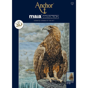 """Anchor Maia Collection counted Cross Stitch kit """"3D..."""