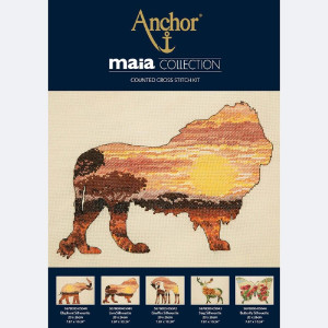 Anchor Maia Collection Kreuzstich-Set...